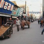 A typical streetscene in Kunsan in 1970