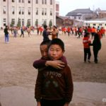 This Kunsan schoolboy must have been very proud of his new Expo 70 sweater
