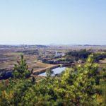 Two views of a classic Korean village outside Kunsan               1/2